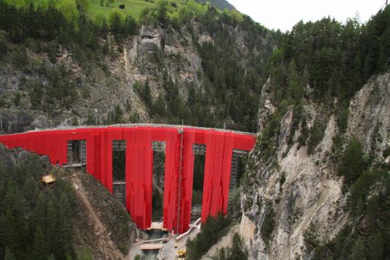 Изкуство от скеле – Landwasserviadukt