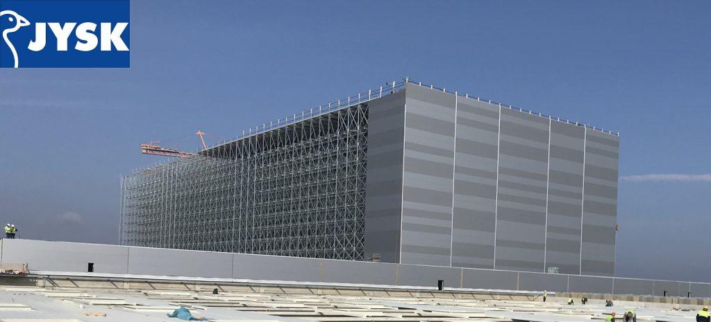 Jusk логистичен център