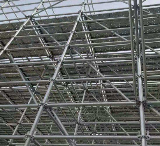 Диагонали за скеле  – ролята им при укрепване на фасадна конструкция