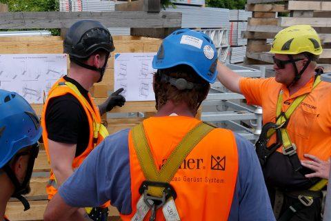 Безопасност при индустриалните конструкции скеле – Индивидуална защита против падане