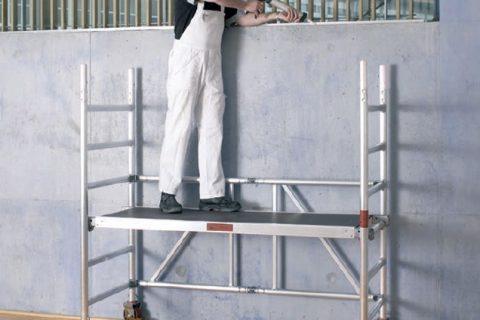 Мобилни скелета Layher – Правилното решение за всяка задача. Алуминиева кула Zifa.